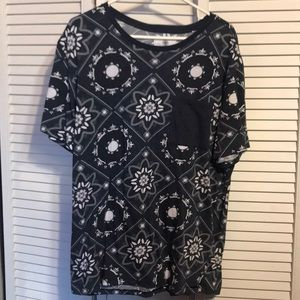 NWOT men's On the Byas short sleeve tee